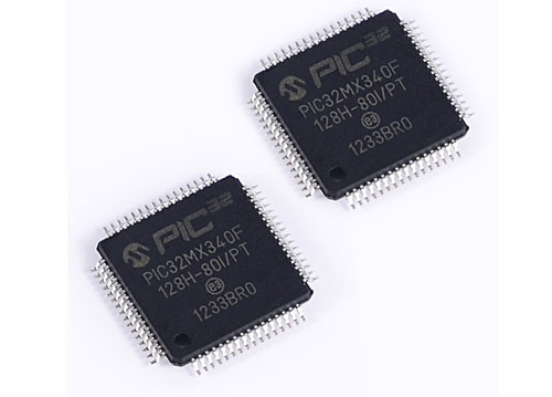 IC芯片-PIC32MX340F128H-80I/PT